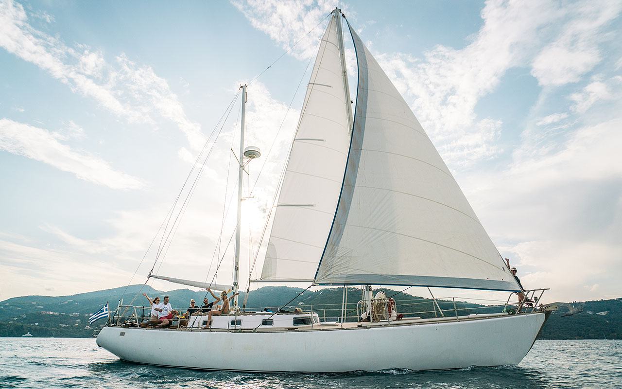 exantas greece - sailing trips